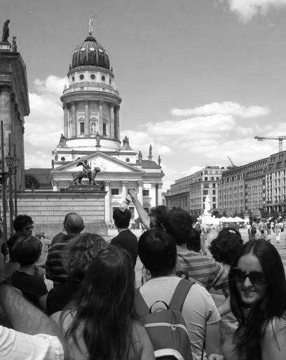Foto tomada durante el Free Tour en Berlin