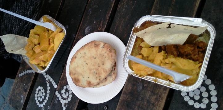 Comida india de Lady y Mister Gangas