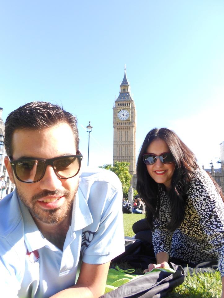 Lady y Mister Gangas en Londres