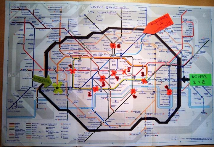 Mapa a lo Lady Gangas