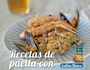 Recetas de paella con Gallina Blanca
