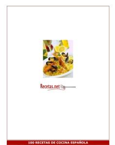100 recetas de cocina española